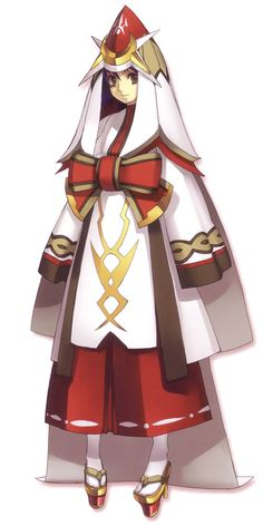 Luca - Costume Design from Ar tonelico II: Melody of Metafalica