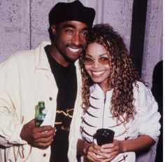Tupac Shakur and Janet Jackson