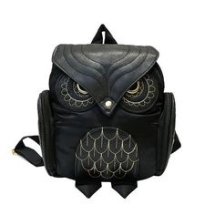 Trendy Owl Backpack