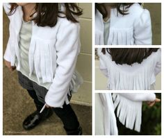 luvinthemommyhood: cute fringed fleece jacket