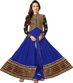 #BuyFromLink --> http://fkrt.it/skAqIuuuuN  #Women's #Georgette #Embroidered #Semi-stitched #Santoon #Salwar #Suit #Dupatta #Material #Anarkali #Dress #SalwarKameez #Blue #golden #Designer #Salwar #Kameez #Karishma #kapoor #Awesome #Indianfashion #Gorgeous #look #style  #Shop #Buy #online #india