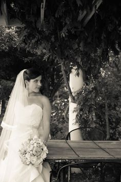 Veramar Vineyard Bridal Portrait VIntage Style