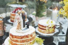60 topos de bolo de casamento 2017: para todos os gostos! Image: 27