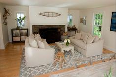 Living room renovation design