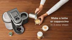 K-Café™ Special Edition Single Serve Coffee, Latte & Cappuccino Maker Cappuccino Maker, Cappuccino Machine, Latte Machine, Espresso Machine, Coffee Latte, Best Coffee, Coffee Cup, Nespresso, Coffee Shot