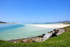 Luskentyre beach, Isle of Harris. Scotland.
