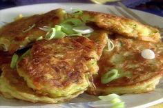 Get Paula Deen's Vegetable Pancakes Recipe from Food Network