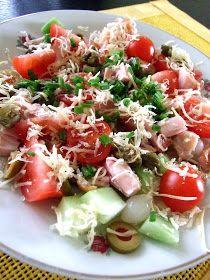 Pasta Salad, Cobb Salad, Bruschetta, Cabbage, Vegetables, Ethnic Recipes, Food, Crab Pasta Salad, Essen
