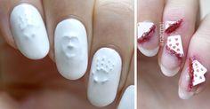 Creepy Halloween Nail Art Ideas By PiggieLuv | Bored Panda