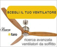 Ventilatori da soffitto Vendita Online