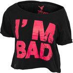 Urban Dance T-Shirt I am Bad Short Tee UD042 schwarz rot