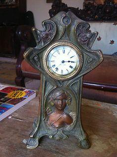 Seth Thomas Nouveau Clock