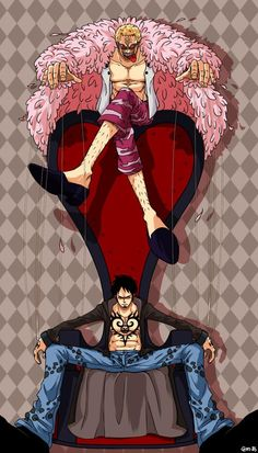 Browse more than 27 Donquixote Doflamingo pictures which was collected by Hoa Mèo, and make your own Anime album. One Piece Gif, One Piece Drawing, One Piece World, One Piece Anime, Zoro, Monkey D Luffy, Trafalgar Law Wallpapers, Dragon Ball, Robin
