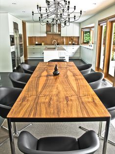 Modern Dining Room Table Design, Pictures, Remodel, Decor and Ideas - page 5