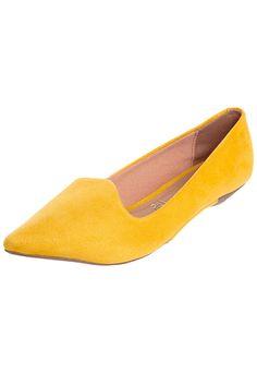 d0b888e876 Slipper Vizzano Bico Fino Amarelo