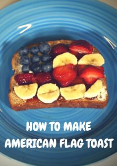 This quick and simple recipe is the perfect after-school snack for kids. Made with whole wheat bread and fresh fruit, this sweet treat is both nutritious and delicious. VIDEO: How to Make American Flag Toast - http://www.activekids.com/food-and-nutrition/articles/video-how-to-make-american-flag-toast