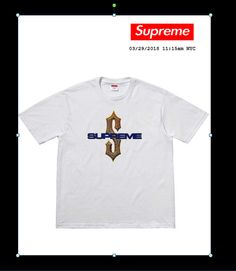 378527cd48d Supreme Diamond T-shirt Tee White Size XL New Mens SS18 Collection