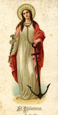 St. Philomena/Filomena | The Shield About Me