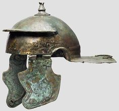Roman Weisenau helmet from the former Axel Guttmann collection, now presumably in an unknown private collection. Estimated as second half first century CE.