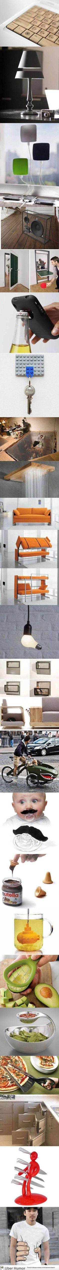 Inventos!! Los hay, muy necesarios como estupidos y graciosos....de todo un poco
