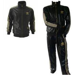 Adidas jacke chile 62 schwarz gold
