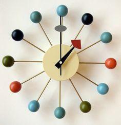 George Nelson Iconic Ball Clock Brand New in Box Retro Mid Century Icon | eBay