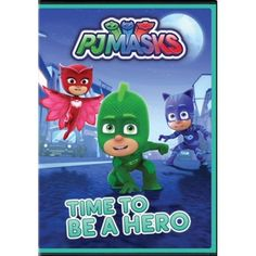 Century Fox Home Entertainment has announced the home release (DVD) for PJ Masks: Time To Be A Hero! PJ Masks: Time To Be A Hero synopsis: By day, six- Los Pj Masks, Fox Home, Son Love, Family Movies, Disney Junior, Movie Collection, Home Entertainment, New Kids, Movie Tv