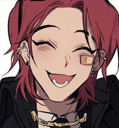Red Hair Anime Guy, Dark Anime Guys, Cute Anime Guys, Art Manga, Anime Art, Character Inspiration, Character Art, Arte Emo, Otaku