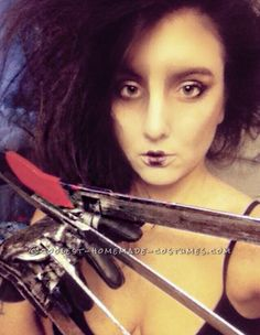 Coolest Ever Edward Scissorhands Costume... Coolest Halloween Costume Contest