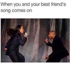 funny, best friends, and true image Really Funny Memes, Stupid Funny Memes, Funny Relatable Memes, Funny Posts, Funny Quotes, Hilarious, Best Friend Songs, Best Friend Quotes, Funny Best Friend Memes