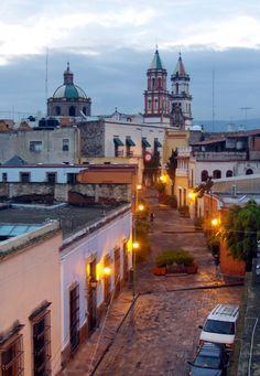 Antiguo México para el #Viajero Incansable En la ciudad de Santiago de #Querétaro, Querétaro, #México.