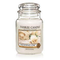Yankee Candle - Wedding Day - Large Jar: Amazon.co.uk: Kitchen & Home