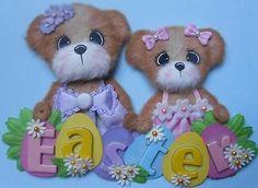 ELITE4U Easter Sisters Tear Bear Scrapbook Premade Paper Piecing 3PAPERWISHES   eBay