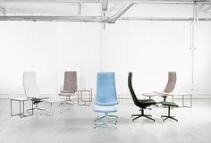 For Stockholm Furniture Fair 2016 Lammhults Introduces Comet XL - a deluxe version of conference and lounge seating. Design: Gunilla Allard