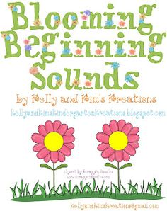 ONLY $1.50 until Sunday, 3/20/16 for Markdown Monday! Blooming Beginning Sounds is a picture to letter sound matching activity will be fun for your students to complete during your spring, flowers, plants, garden, or living things units. Center and assessment included!