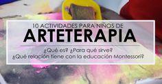¿Qué es esto de la Arteterapia?   Como su nombre indica podemos ver que está compuesta por Arte y Terapia, ambas por separado tienen su pro...