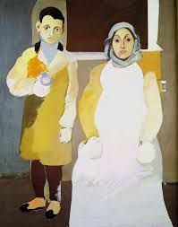Arshile Gorky,The Artist with His Mother, 1936, Modern and Abstract