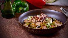 Salad Recipes, Potato Salad, Cabbage, Vegetables, Ethnic Recipes, Food, Home, Recipes With Vegetables, Stir Fry