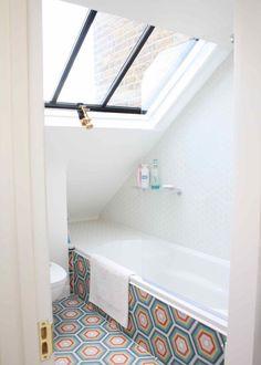 Verrière /salle de bain sous les toits