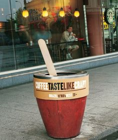 Guerilla Marketing - Auckland Coffee