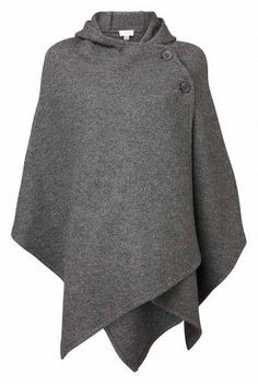 witchery Our hooded poncho is a great piece for this Winter season. Our boiled wool poncho features two bottoms for easy closure and is available in two great colours. Poncho Cape, Wool Poncho, Poncho Outfit, Hooded Poncho, Basic Fashion, Womens Fashion, Sewing Clothes, Diy Clothes, Winter Mode