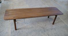 Lavička MEX 1600 z masívneho orechového dreva #interiordesign #furniture #woodwork #cubica Furniture, Table, Home Decor, Decoration Home, Room Decor, Home Furnishings, Tables, Home Interior Design, Desk