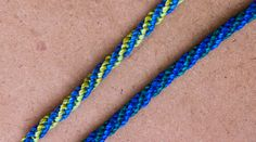 tutorial pulseras macramé nudo espiral doble