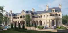 Here are some amazing renderings of mansions done by CG Rendering. CG Rendering is a visualization studio that specializes in 3D, Architecture, Rendering (Exterior/Interior), Product, Medical and Animation images.    They notably did renderings of Mark Wahlberg's