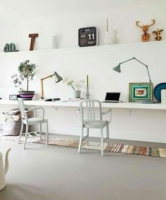 Less is more! Workspace.
