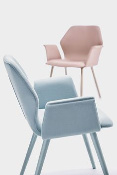 """ava"" "" modern dining arm chair by Bross"