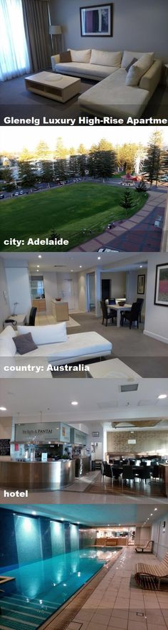 Glenelg Luxury High-Rise Apartment, city: Adelaide, country: Australia, hotel High Rise Apartments, Australia Hotels, Tours, Mansions, Country, Luxury, House Styles, City, Outdoor Decor