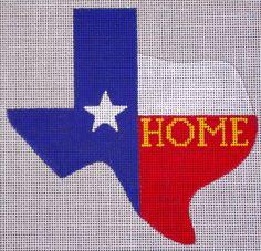 Texas Home by EyeCandy Needleart
