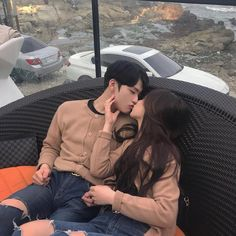 Find images and videos about love, style and couple on We Heart It - the app to get lost in what you love. Korean Boys Ulzzang, Ulzzang Couple, Ulzzang Girl, Korean Girl, Daddy Aesthetic, Couple Aesthetic, Relationship Goals Pictures, Cute Relationships, Cute Couples Goals