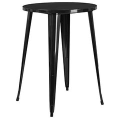 Create a chic dining space with this industrial style table. The colorful table will add a retro-modern look to your home or eatery. This highly versatile cafe table is ideal for use in bistros, taverns, bars and restaurants. You can mix and match this style table with any metal chair, even... more details available at https://furniture.bestselleroutlets.com/game-recreation-room-furniture/home-bar-furniture/bar-wine-cabinets/bar-tables/product-review-for-flash-furniture-30-ro